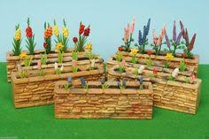 ebay farm and garden. britains floral garden stone wall with flowers (choose from 7 assorted) ebay farm and .