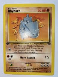 See more ideas about pokemon, pokemon art, 151 pokemon. Mavin 1st Edition Rhyhorn 61 64 Jungle Series Pokemon Card