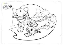 Jam Coloring Page Animal Jam Ocean Coloring Page Looney Tunes Space