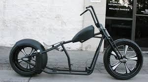 n322 super funk 250 chop bobber 23 front malibu motorcycle works