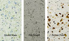 recycled glass surfaces