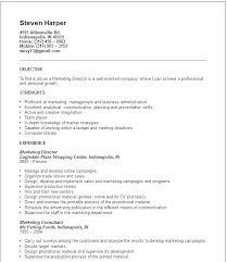 Marketing Job Resume Examples Digital Marketing Resume Examples Ellseefatih Com
