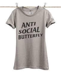 Anti Social Social Club Tee Size Chart Thread Tank Heather Tan Anti Social Butterfly Tee Plus Too