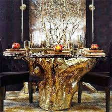 tree root table base the most dining table with tree trunk base at throughout tree trunk