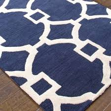 navy blue and white area rugs for elegant rug roselawnlutheran remodel 4