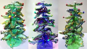 Christmas Decorations Made Out Of Plastic Bottles Plastic bottles recycling How to make christmas tree made of 19