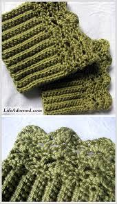 Free Crochet Boot Cuff Patterns Impressive Crochet Boot Cuffs And Toppers 48 Free Patterns Grandmother's