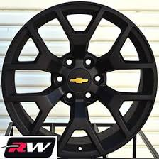 Chevy Silverado Lug Pattern New 48 Inch RW Wheels For Chevy Tahoe 48 48 Satin Black 48x48 Rims