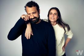 Emmy Contenders Amanda Peet and Steve Zissis on Going 'Off the ...