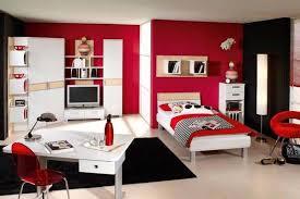 Girls Red Bedroom Ideas