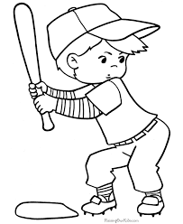 Small Picture Baseball Player Coloring BookPlayerPrintable Coloring Pages Free