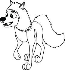 Animal Jam Wolf Coloring Pages At Getcoloringscom Free Printable