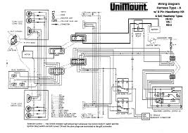 diagram 62511 western unimount 2b 2d headlight harness truck magnificent plow wiring