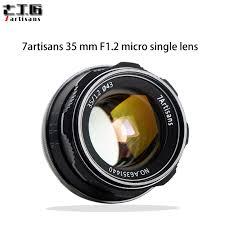 <b>7artisans 35mm F1.2 APS C</b> Manual Fixed Lens For E Mount Canon ...