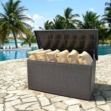 patio cushion storage patio furniture cushion storage bench patio cushion storage diy