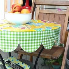 round oilcloth tablecloths best