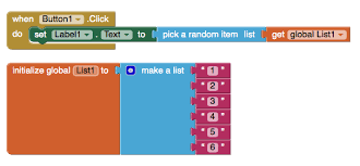 Make A List Com What Code To Prevent Repeat Items In Random List Mit App Inventor