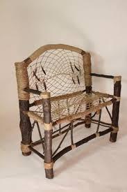 Dream Catchers Furniture Dreamcatcher Mini Bench No100 Recycled Tree by HagendorfOriginals 5