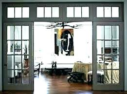 interior door with window on top transom above windows image of french doors glass and ope