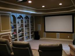 home theater ceiling lighting. Amazing Cool Home Theater Rooms With Gray Built In Target Shelving And Club Sofas Under Ceiling Lighting E