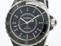 chanel j12 emerald ceramic automatic mens watch h2131 bf089634 chanel j12 emerald ceramic automatic mens watch h2131 bf089634