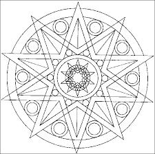 Mandala Disegno Da Colorare Gratis 33 Per Adulti Disegni Da
