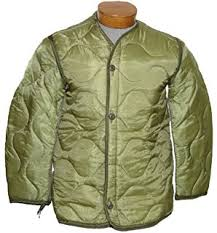 Amazon.com : Foliage Green Quilted M-65 Field Jacket Liner, U.S. ... & Military Outdoor Clothing Previously Issued U.S. G.I. Nylon M-65 Coat Liner Adamdwight.com