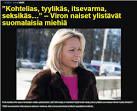 virolainen nainen etsii miestä