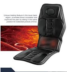 massage chair for car. 9 motor massage car seat cushion pad chair for