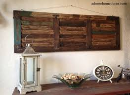 rustic wood wall panel distressed shutter antique vintage shabby accent decor ebay on rustic wood panel wall art with 11 wood panel wall art decor buddha serene wall artcarved wood