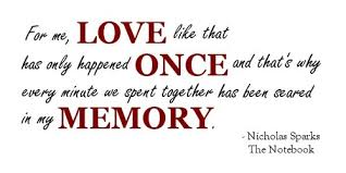 The Notebook Quotes Beauteous A Quote From Nicholas Sparks THE NOTEBOOK Quotes On Twitpic