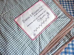 My Rose Valley: How to label a quilt & And hopefully the quilt will last for a long long time and the label will  stay intact telling a story about when and who made it and ... Adamdwight.com