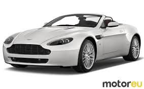 Aston Martin V8 Vantage Roadster 405 Hp 2007 2018 Mpg Wltp Fuel Consumption