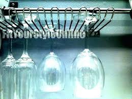 racks for wine glasses glass dishwasher rack holder hanging