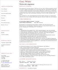 experienced network engineer resume sample resume samples for network engineer