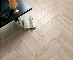 Porcelain Wood Look Tile Example.