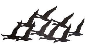 wall art ideas design huge large metal birds in flight sculptured statue artistic beautifully accent stylish