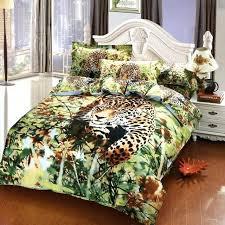 animal bedding sets jungle animal cheetah print bedding set cotton bedroom sets duvet cover pillowcase bed