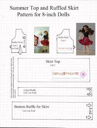 Free Printable Doll Clothes Patterns For 18 Inch Dolls Custom Inspiration Design