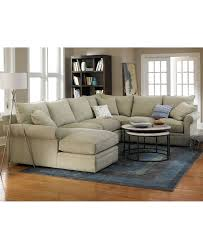 Sectionals In Living Rooms Doss Fabric Sectional Living Room Furniture Collection Furniture