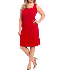 Tahari Arthur S Levine Size Chart Tahari Asl Plus Size Pebble Crepe Sleeveless Sheath Dress