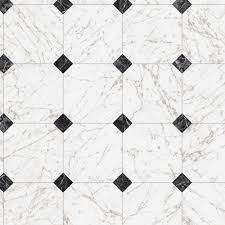 trafficmaster black and white marble paver 12 ft wide x your choice length residential vinyl