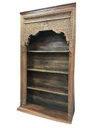 antique bookcase antique bookcase reclaimed carved wood book shelf antique oak secretary desk bookcase