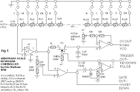 audio synthesis via vacuum tubes vca schematic