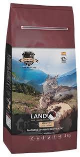 <b>Сухие корма</b> для кошек <b>Landor</b>