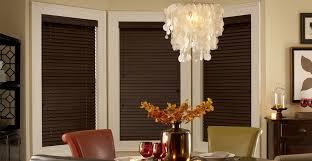 dark wood blinds. Simple Blinds Dining Room Wood Blinds  3DayBlinds On Dark