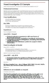 Criminal Investigator Resume Resume Example Collection