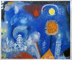 2018 landscape of the past by paul klee modern abstract oil painting for decor h 0563 from ssdchan77 125 63 dhgate com