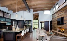 Modern rustic interior design Post Blend Rustic And Modern Touches Freshomecom The Defining Style Series What Is Rustic Chic Design