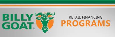 billy goat retail financing
